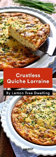 7 Crustless Quiche Recipes That Are Way Easier to Cook Than the OG