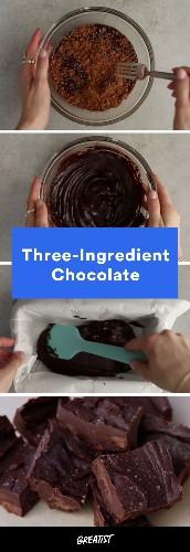3-Ingredient Chocolate