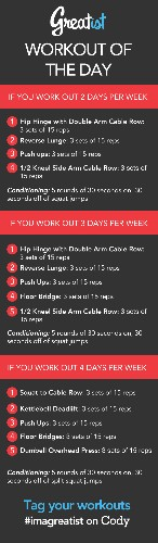 Greatist Workout of the Day: Monday August 12th