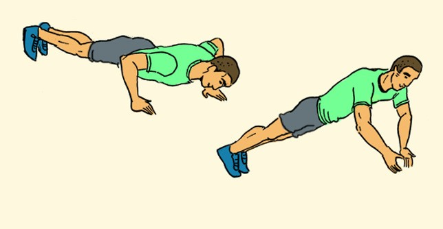 The Advanced No-Gym Bodyweight Workout [INFOGRAPHIC]