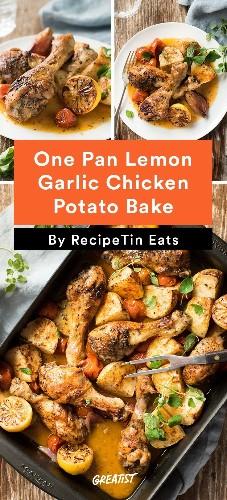 7 One-Dish Chicken Dinners