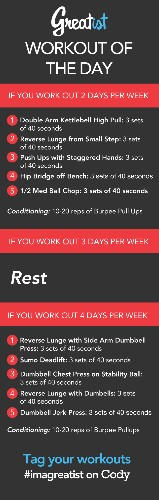 Greatist Workout of the Day: Thursday, March 13th