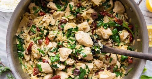 17 Mediterranean Diet Chicken Recipes You Haven't Already Tried | Greatist