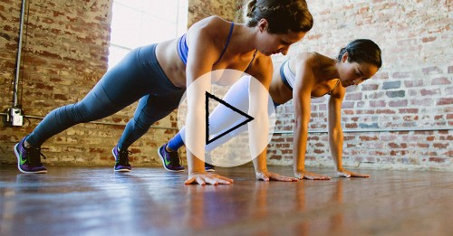 Upper-Body Workout: A Yoga-HIIT Workout in 10 Minutes