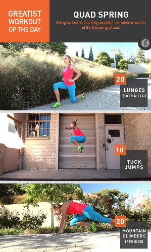Greatist Workout of the Day: Friday, June 6th