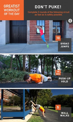 Greatist Workout of the Day: Monday, November 17th