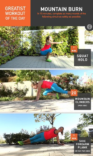 Greatist Workout of the Day: Wednesday, May 28th