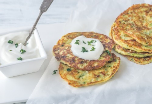 These Easy Zucchini Fritters Are the Perfect Healthy Party Appetizer