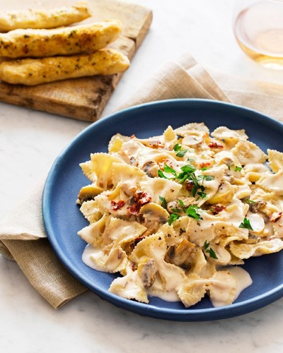 A Pasta So Rich and Creamy You'll Never Believe It's Vegan