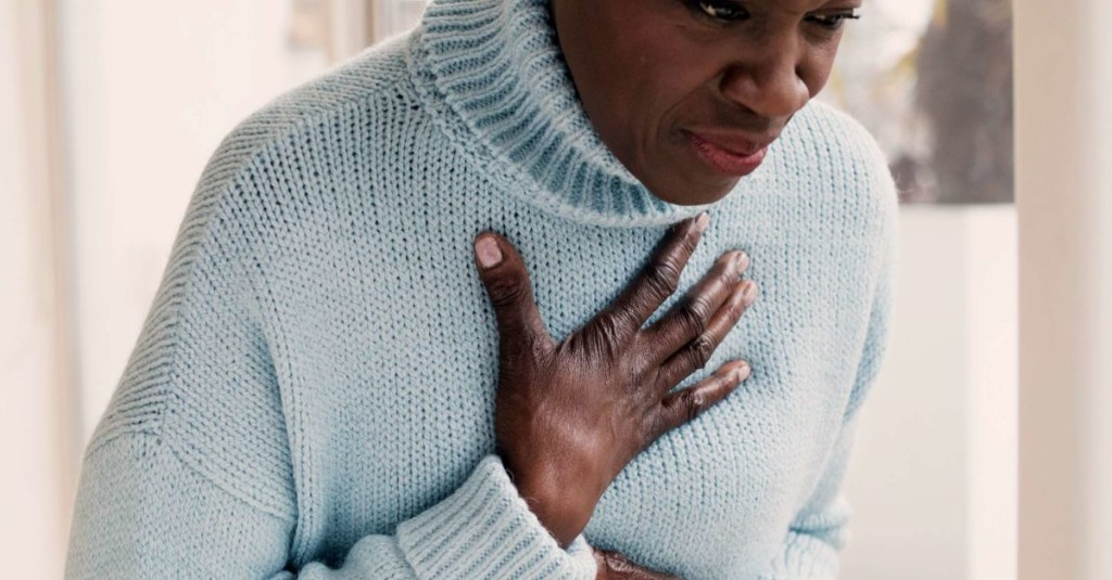 Acid reflux and shortness of breath