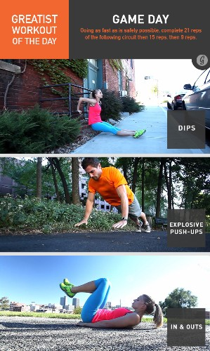 Greatist Workout of the Day: Friday, December 12th