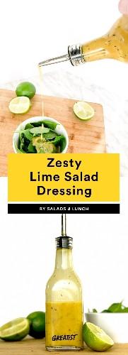 7 Meal-Prep Dressings So You No Longer Have to Eat a Sad Desk Salad