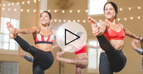 HIIT Workout: an At-Home Yoga-HIIT Hybrid Video