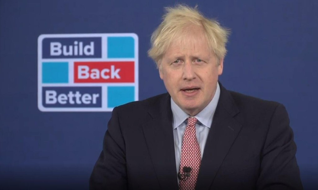 Covid can change UK like 'new Jerusalem' of 1940s, Johnson claims