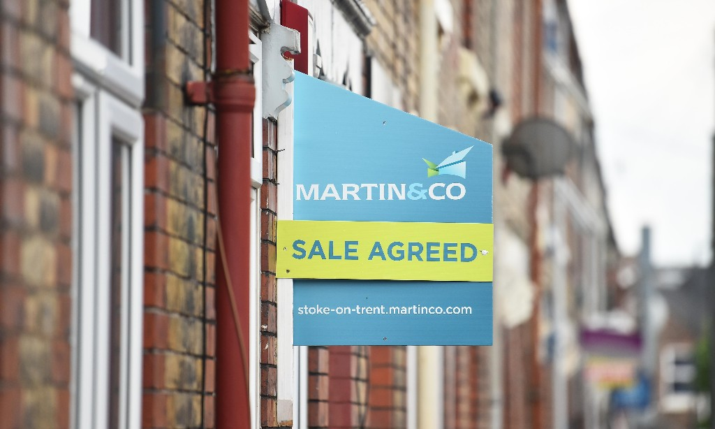 UK house price boom will collapse once buyers lose their jobs