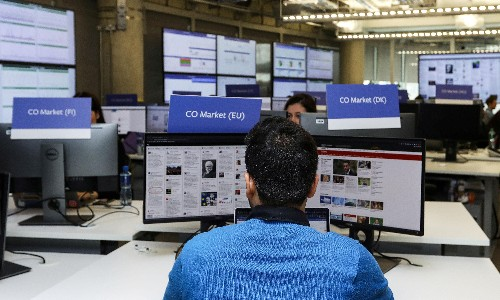 Inside Facebook's war room: the battle to protect EU elections