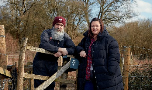 How we live together: 'People couldn't believe I'd run off with the bearded hippy in the forest'