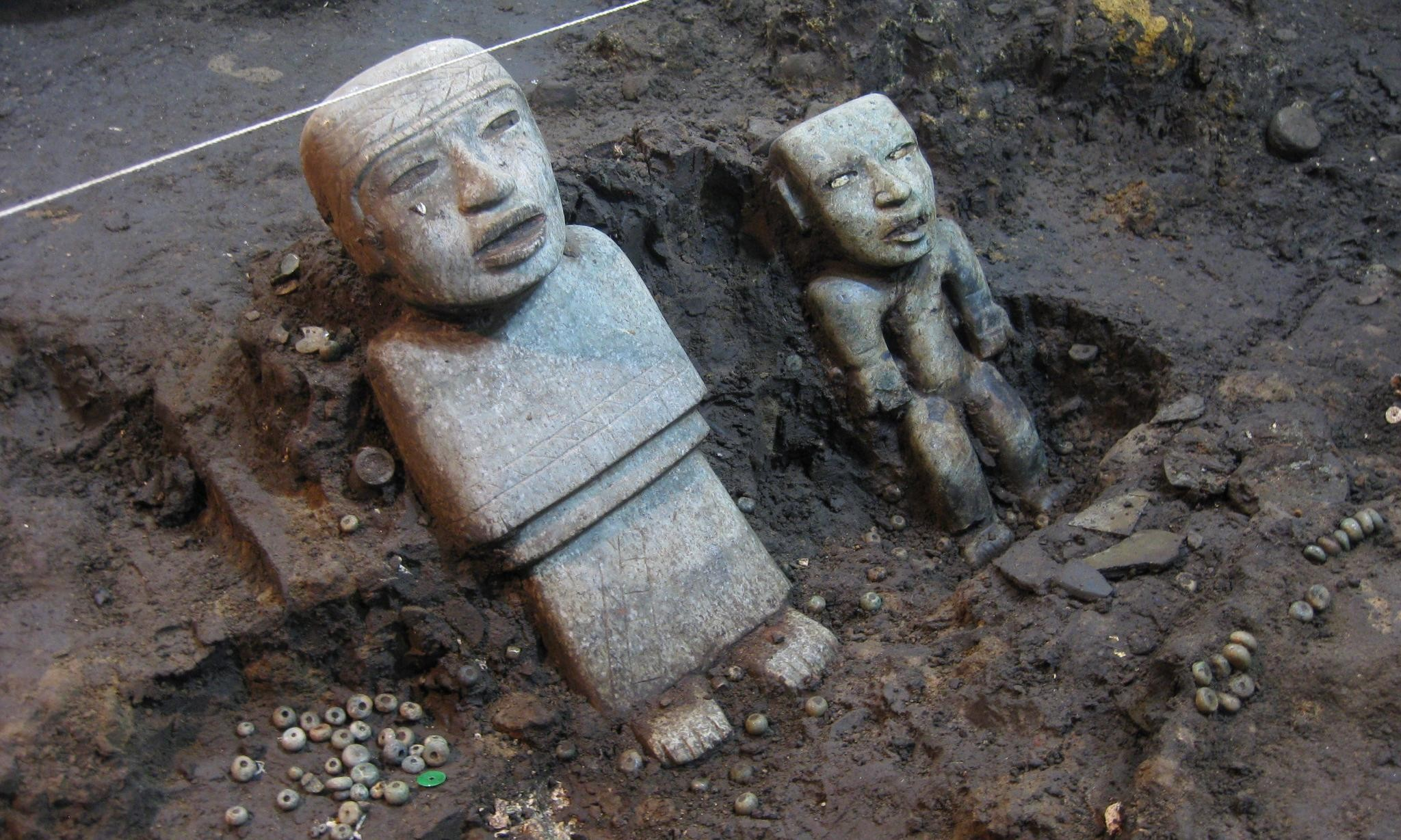 Mexico's ancient city guards its secrets but excavation reveals new mysteries