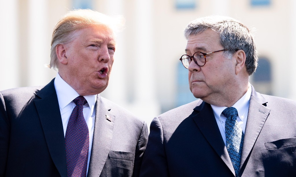 Trump-Russia inquiry - Cover
