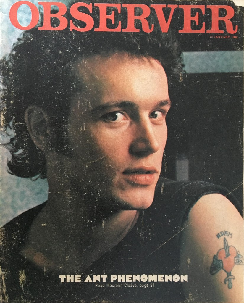 From the archive: Adam Ant stands and delivers, 1982