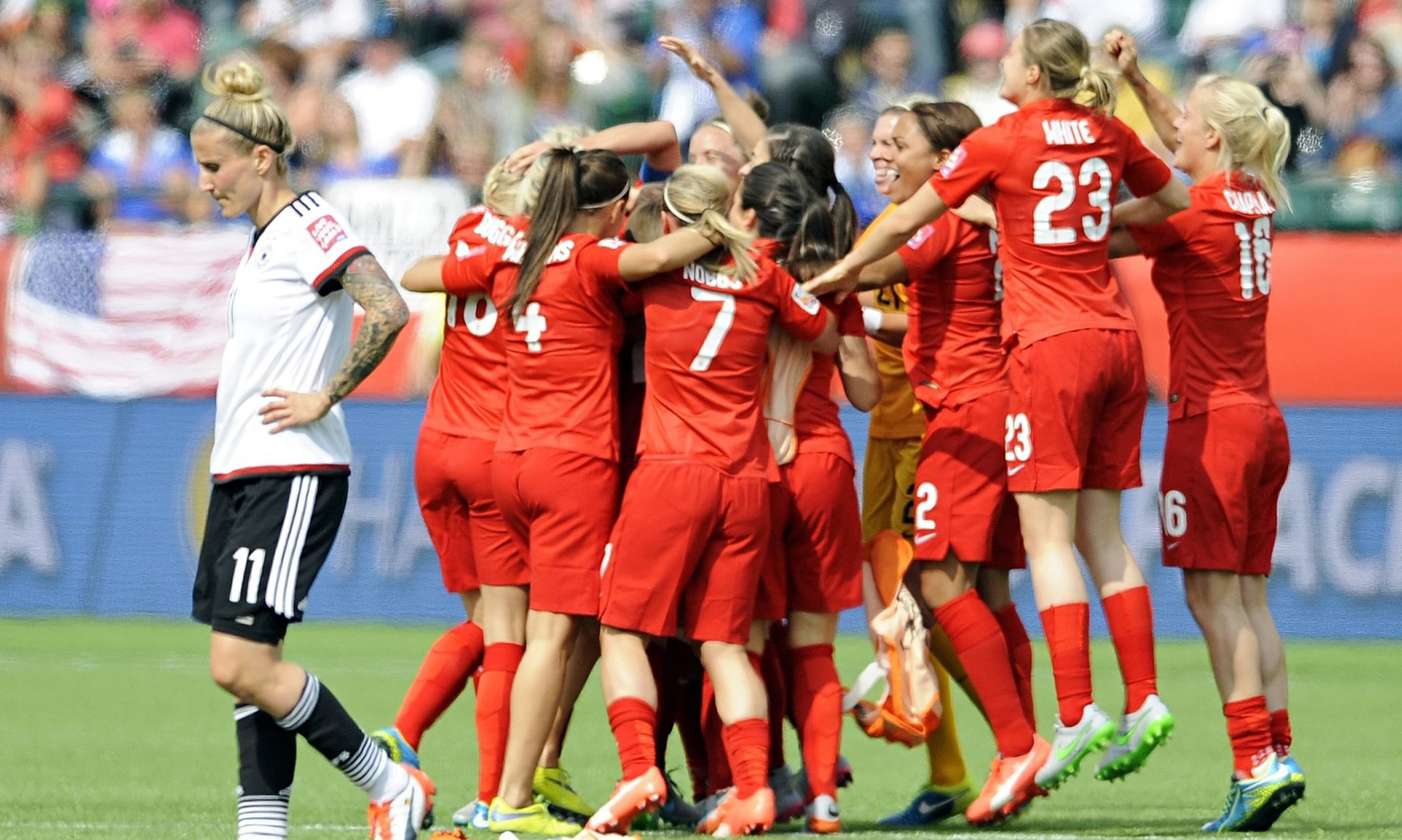 Women's World Cup: England win nation's support with World Cup bronze