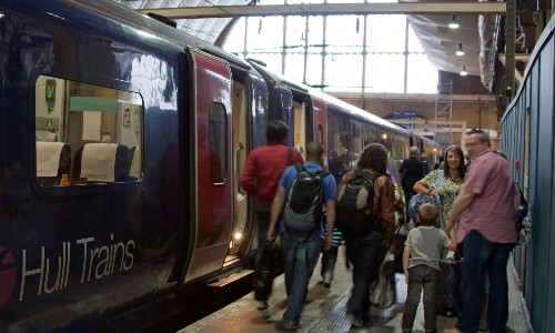 Hull Trains becomes first British operator to suspend all services