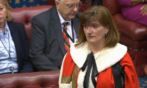 Nicky Morgan's journey of forgetfulness leads her to seat in Lords