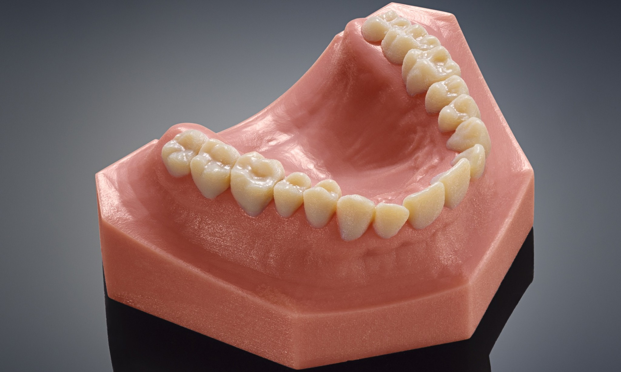 The latest advance in 3D printing: replacement teeth
