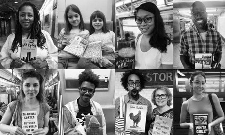 Subway Book Review glimpses the lives of New Yorkers via the books they read