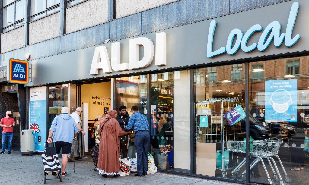 Aldi to create 4,000 more UK jobs as sales surge in Covid crisis