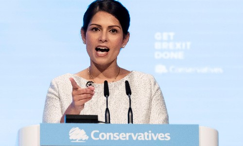 A reckless Tory party is resorting to pantomime authoritarianism