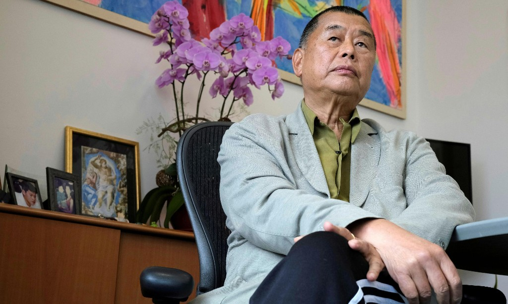 'The press has to go on': Hong Kong media tycoon Jimmy Lai defies Beijing
