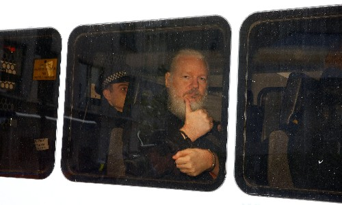 Julian Assange faces US extradition after arrest at Ecuadorian embassy