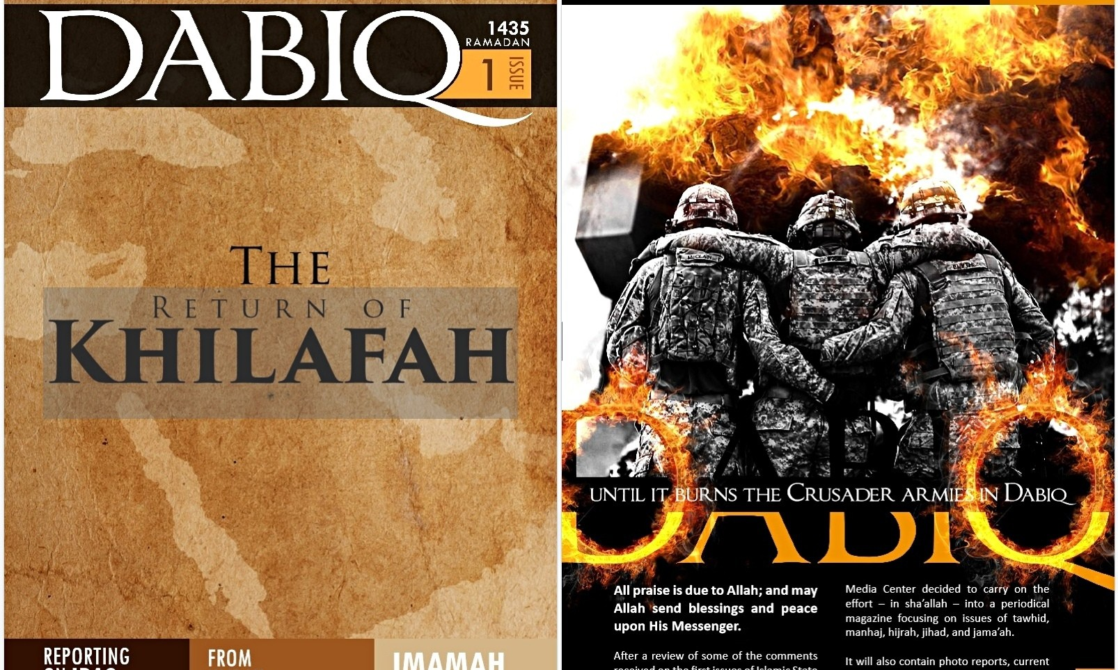 To Islamic State, Dabiq is important – but it's not the end of the world