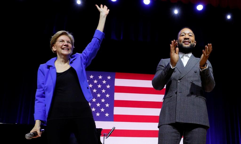 You Go Elizabeth Warren! - cover