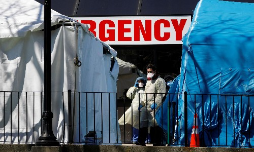 Trump says keeping US Covid-19 deaths to 100,000 would be a 'very good job'