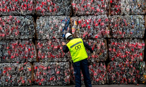 War on plastic waste faces setback as cost of recycled material soars