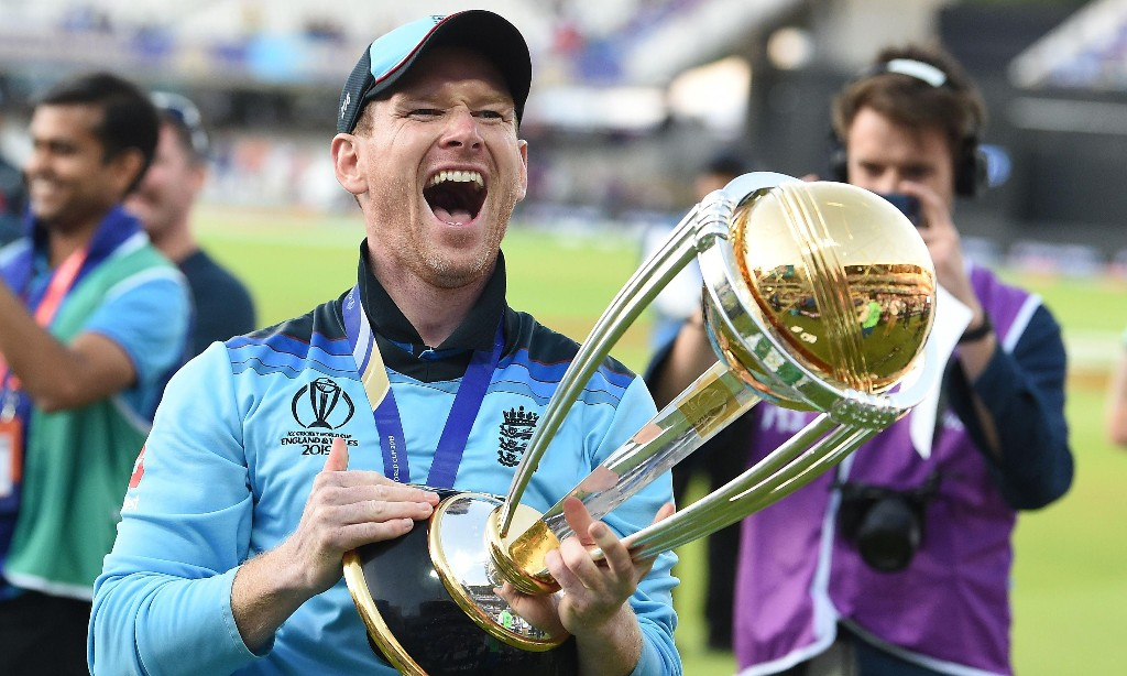 Eoin Morgan says World Cup final win was 'actually bigger than cricket'