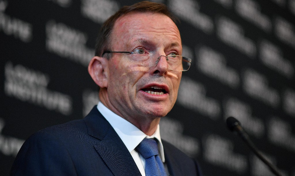 Tony Abbott, former Australian PM, tells Israeli radio the world is 'in the grip of a climate cult'