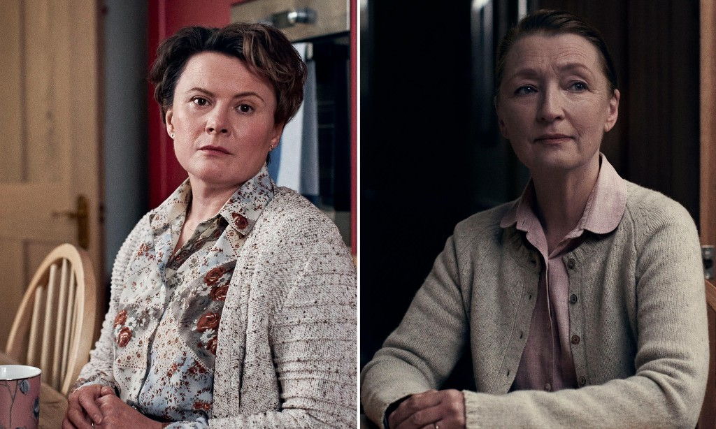 The Shrine & Bed Among the Lentils review – silent screams from Monica Dolan and Lesley Manville