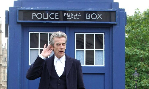 It's not Doctor Who but.... - cover