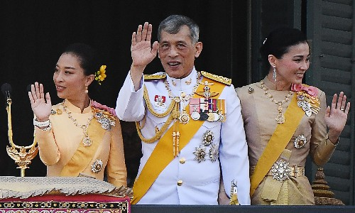 King's sacking of consort highlights power of Thai monarchy