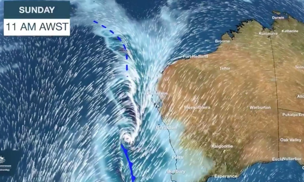 Entire Western Australia coast to be battered by 'once-in-a-decade' storm