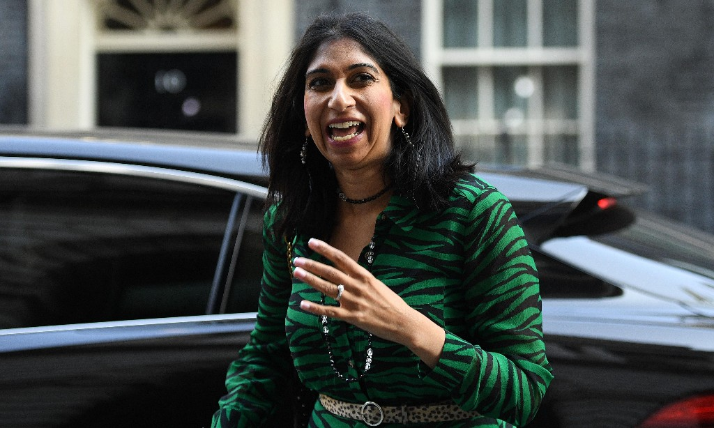 Suella Braverman – blindly in thrall to Cummings and co
