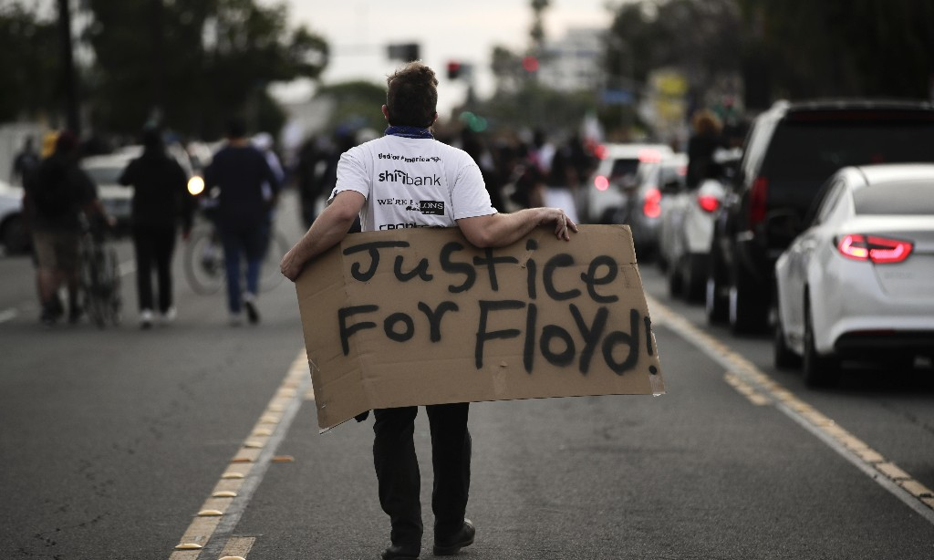 Are you taking part in US protests after the death of George Floyd?