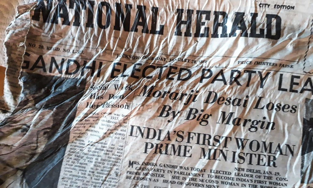 Mont Blanc melting glacier yields Indian newspapers from 1966 plane crash