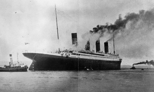 Scientist's theory of climate's Titanic moment the 'tip of a mathematical iceberg'