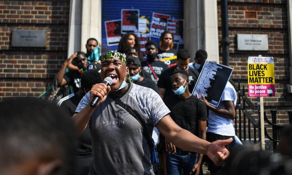 Tottenham protest marks anniversary of Mark Duggan's death