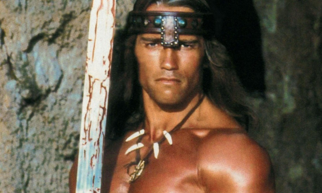 My favourite film aged 12 ... Conan the Barbarian