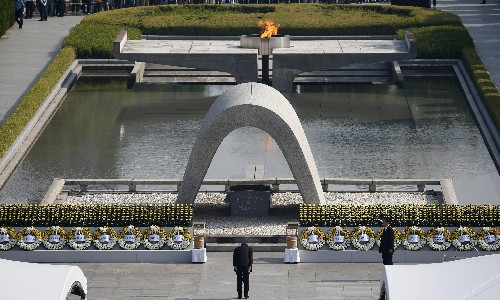 Hiroshima atomic bomb: a simple toll of a bell signals the moment 80,000 died